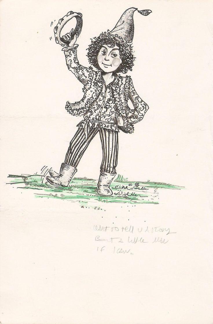 """""""Syd the gnome"""" by calamitafrigo.deviantart.com on @DeviantArt - #SydBarrett #doodle #inktober #drawing #music"""