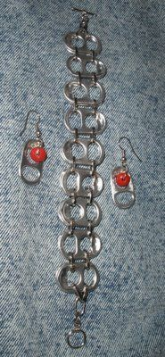 Crafty This and That: Pop Top Tab Jewelry