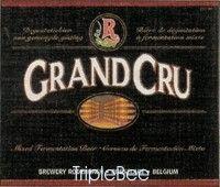 Label van Rodenbach Grand Cru