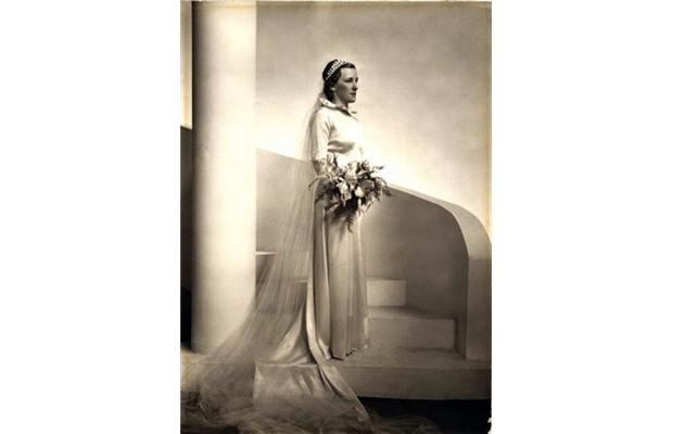 My Mother's wedding picture taken at the Chateau Laurier several days after her wedding on June 23, 1934.