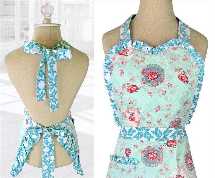 Re-imagine & Renovate: Heart & Ruffle Apron | Sew4Home