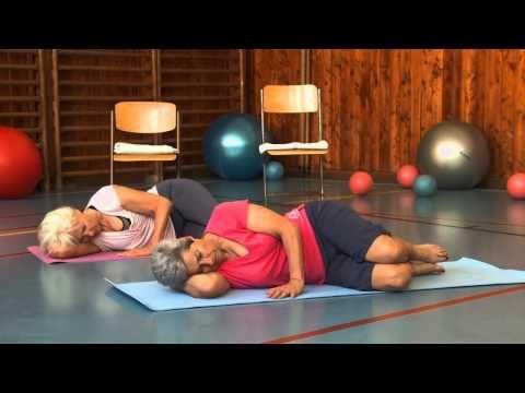 Dolní končetina - Cvičením proti bolesti - 10. díl - YouTube
