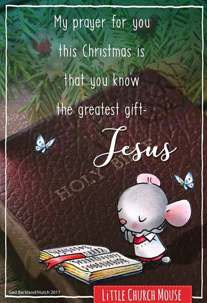 My prayer for you this Christmas - and every day of the year...