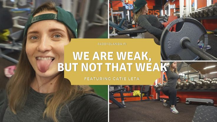 We are weak, but not that weak | Leg Day feat. Catie Leta | Bootybuilding | Glute Activation | Workout Video | Fitness Lifestyle | Jadeyolanda.fi