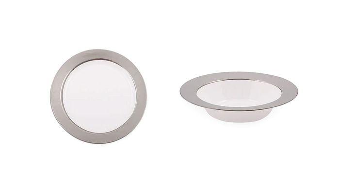 Baron Plastic Dinnerware Elegant Baron plastic tableware and dinnerware for weddings and posh events.