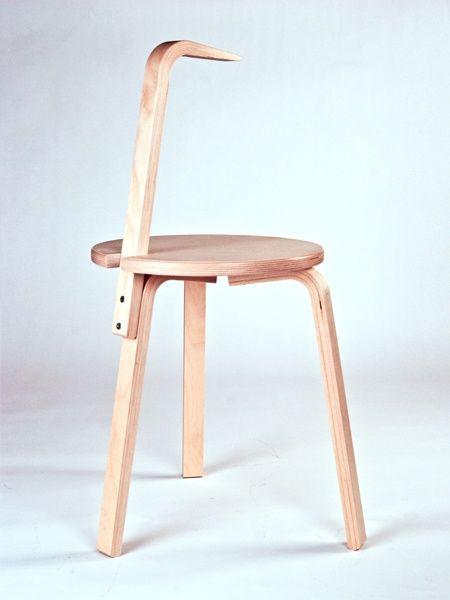 Стулья...из табуреток IKEA / Мебель / ВТОРАЯ УЛИЦА