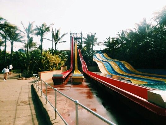 Water slides||Ushaka marine world||2015