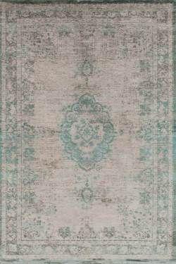 Karpet Vintage Fading Medallion Jade Oyster 8259