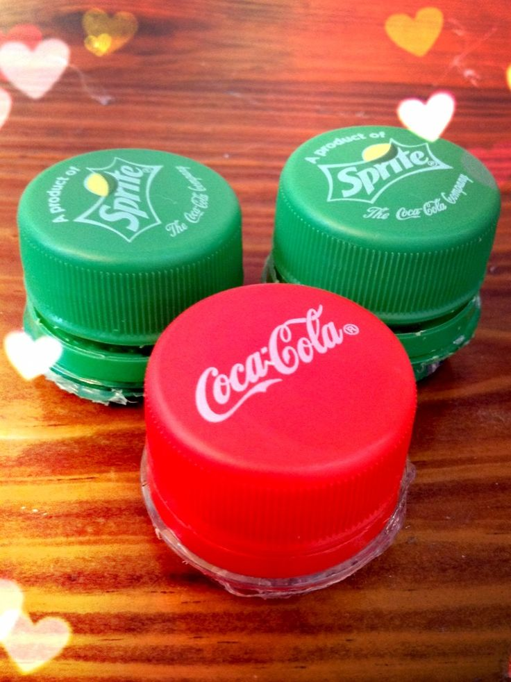 How to Make a Mini Cap Container