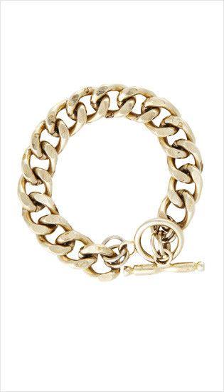gold chain bracelet | summer 2013 collection | juliette hogan