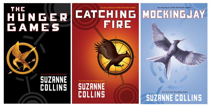 Hunger Games Trilogy...can't wait for movie.