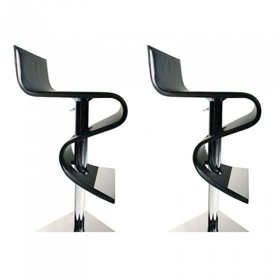 finest tabourets de bar design minneapolis en cuir noir atylia x prix promo tabouret de with. Black Bedroom Furniture Sets. Home Design Ideas
