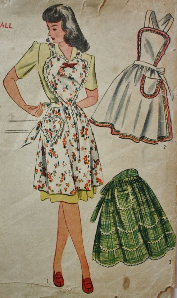 Vintage Sewing Pattern 1940s  Mother's by BluetreeSewingStudio, $26.00