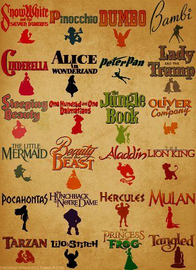 Love Disney Movies