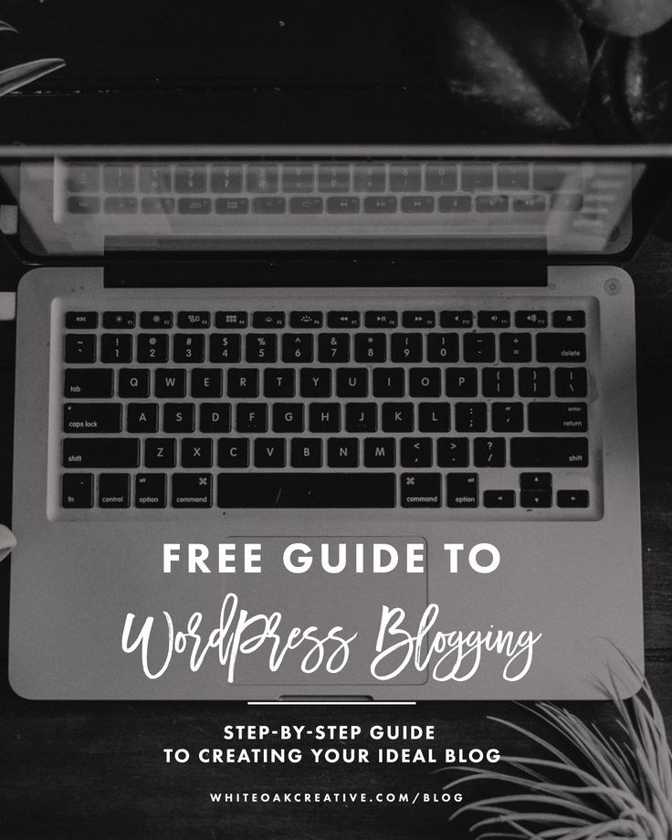 Free Guide to WordPress Blogging, step-by-step guide to creating your ideal blog, tips and tricks for using wordpress, how to start a blog