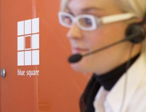 A virtual receptionist from Blue Square