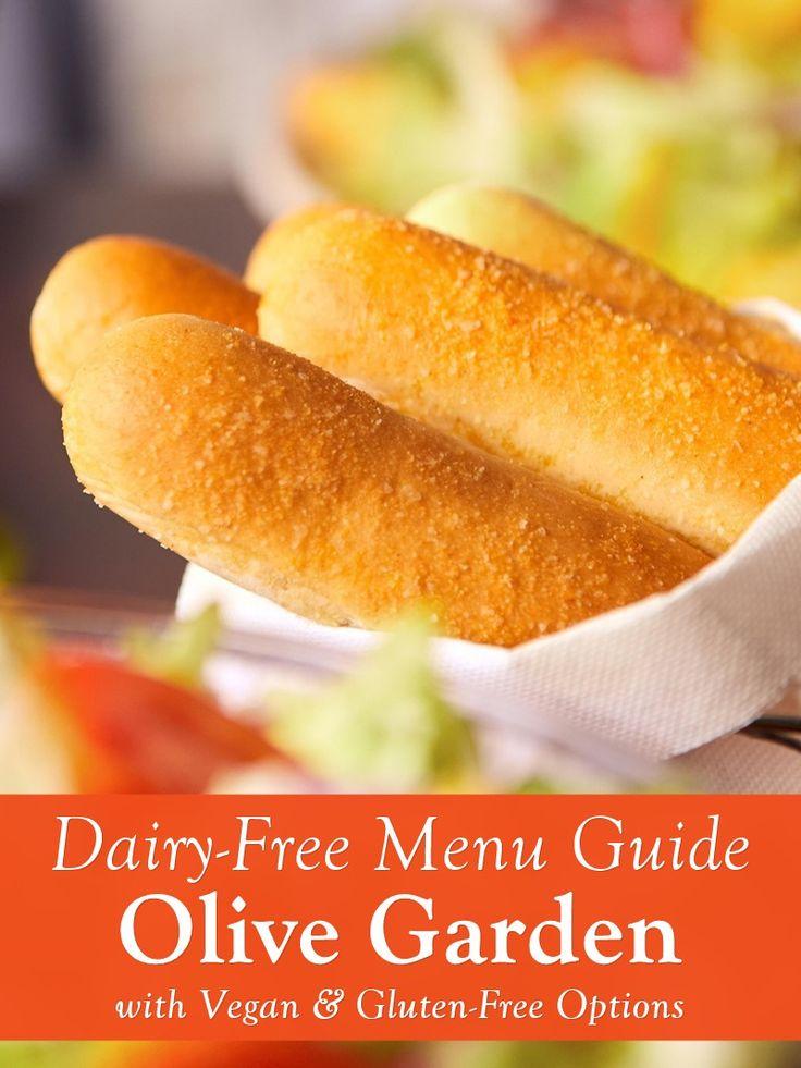 Olive Garden Dairy Free Vegan Menu Guide Gluten Free Options Dairy Free Sauces Dairy Free Recipes Dairy Free