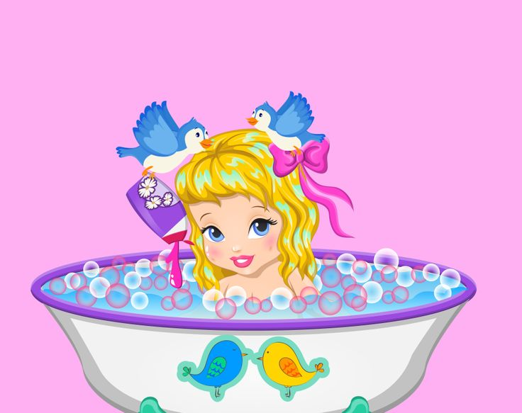 Baby Cinderella Shower  http://www.enjoydressup.com/baby-games/baby-cinderella-shower-8567.html