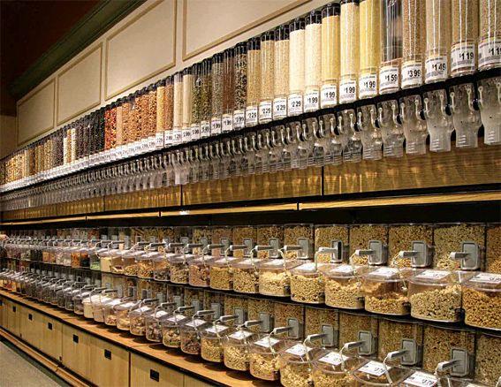 Organic Foods Bulk Dispenser