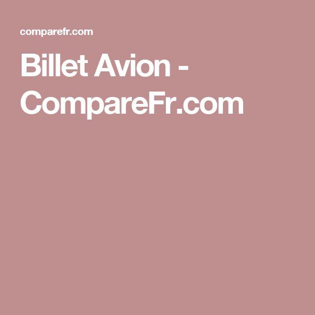 Billet Avion - CompareFr.com