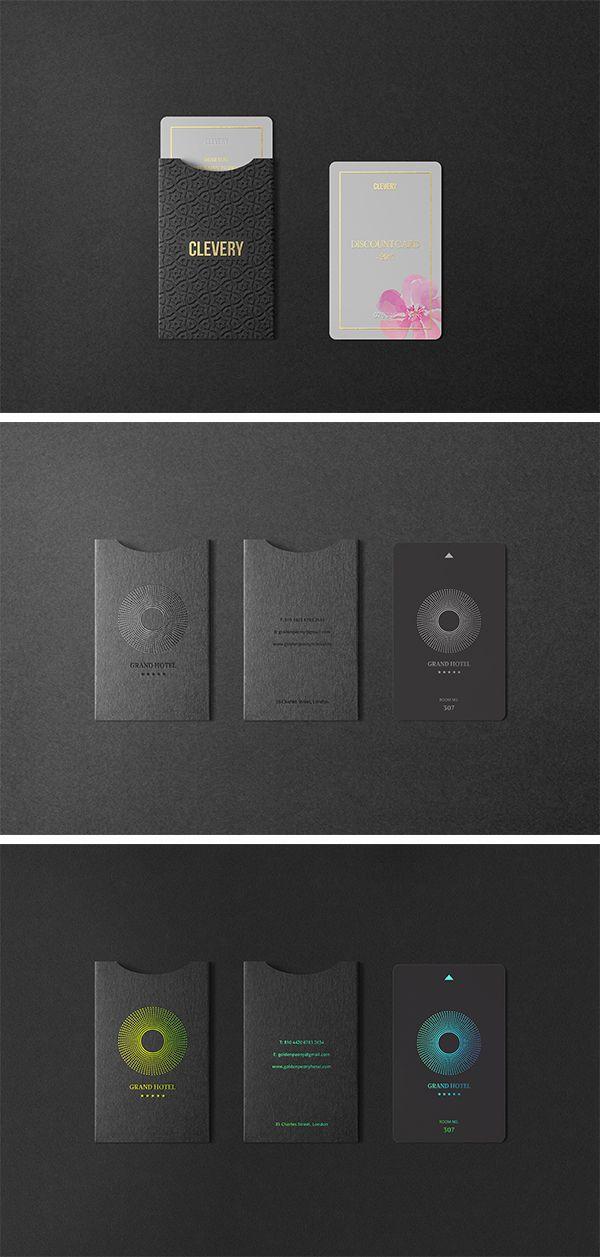 Multipurpose Holder&Card Mockup Vol 5.0 #cardholder #keycard #hotel #identity #branding #stationery #mockup #photorealistic #clevery