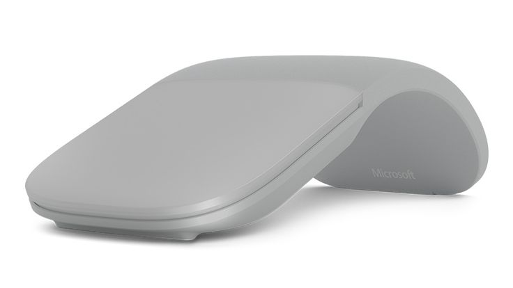 Light Gray color Surface Arc Mouse