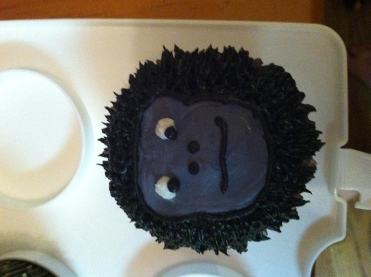 Gorilla Cupcake Cupcake Cakes Birthday Cake Cupcakes