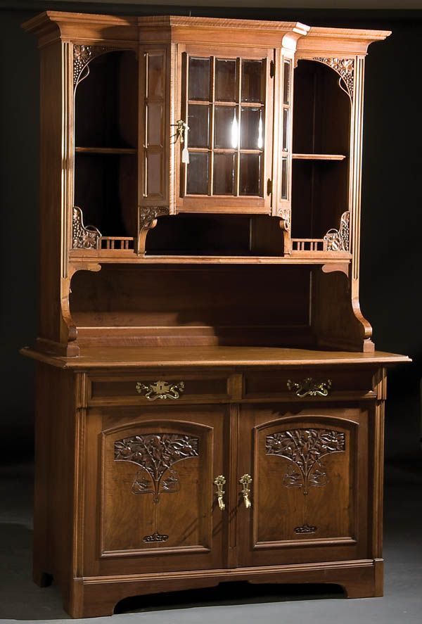 19 best schrank jugendstil images on pinterest jugendstil jugendstil m bel und antike m bel. Black Bedroom Furniture Sets. Home Design Ideas