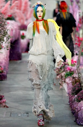 The London Fashion show.