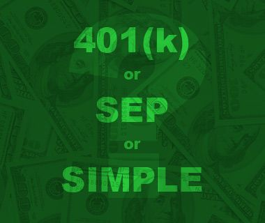 The self-employed can save for retirement and save on their taxes by using Solo 401(k), SEP and SIMPLE retirement plans. Heres how.