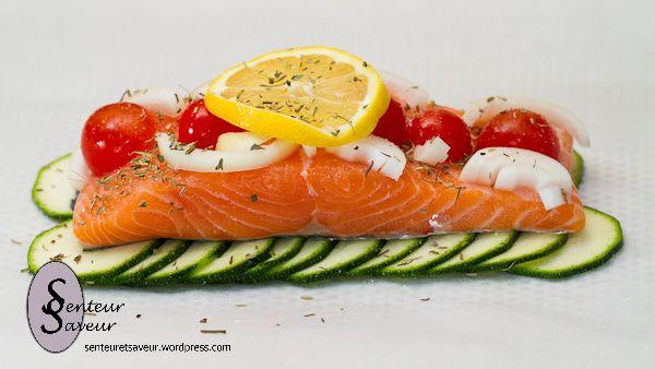 17 best recettes de poisson images on pinterest seafood bikini and bikini swimsuit - Saumon en papillote ...