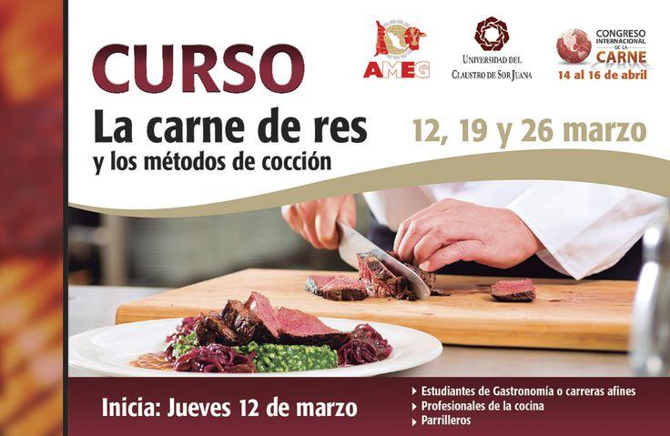 Fechas del curso: La carne de res y los métodos de cocción.
