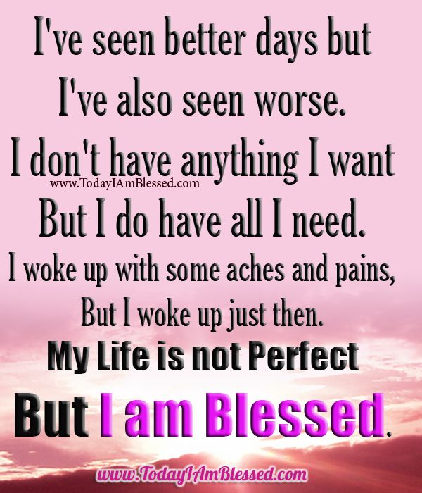 i am blessed quotes - photo #2