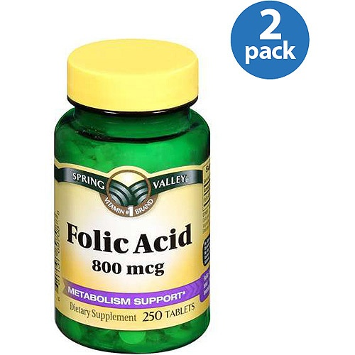 Is 800 mcg of folic acid too much