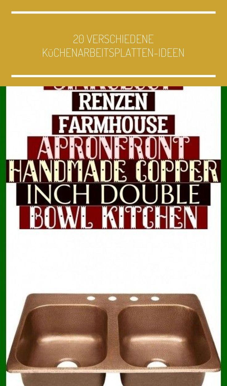 Sinkology Renzen Farmhouse ApronFront Handmade Copper