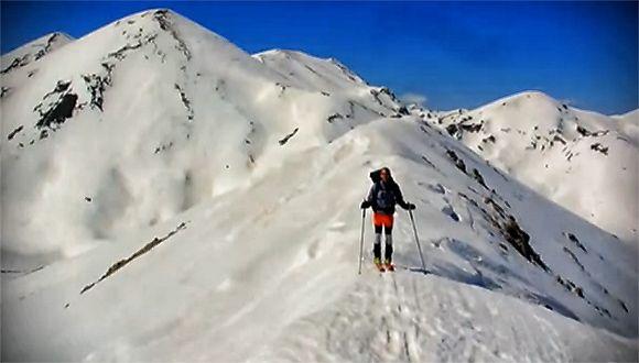 Crossing White Mountains-Crete, Greece by skis. Διασχίζοντας τα Λευκά Όρη. Με σκι! (CRETAZINE ♥ )