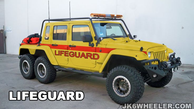 Sweet Jeep Wrangler Unlimited Modified For 6 Wheel
