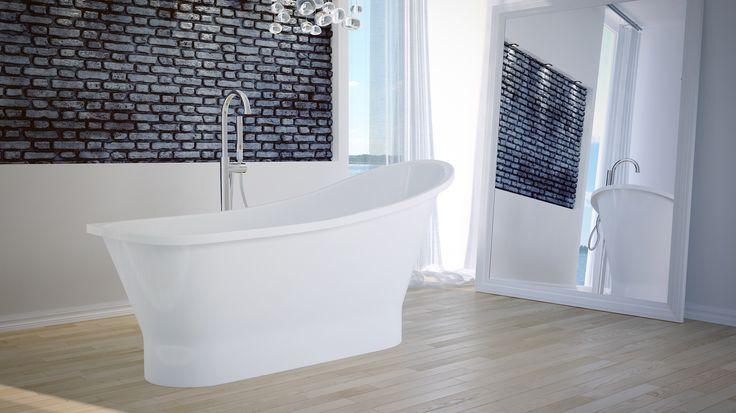 Tworząc nowoczesne wnętrze domowego salonu kąpielowego nie można zapomnieć o odpowiedniej wannie! Proponujemy Naszą wolnostojącą GLORIĘ! Do Was należy wybór koloru w jakiej ją dla Was stworzymy! Więcej  GLORIA na Naszej stronie :)