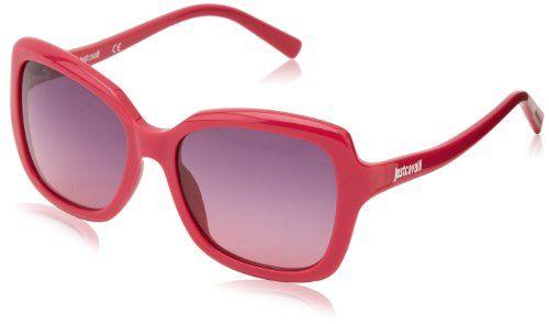 Cerchi occhiali da sole femminili, spiritosi allegri e divertenti? Allora non perderti questi occhiali da sole Just Cavalli con romantica montatura in rosa e lenti...