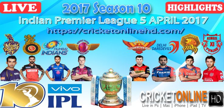 Let's Watch Who won This Match #IPL2017 1st Match Sunrisers v RCB at Hyderabad on Apr 5th Watch All Matches #LIVE In #HD at https://cricketonlinehd.com #IPL10 #T20 #cricket #HIGHLIGHTS Special #Offer..