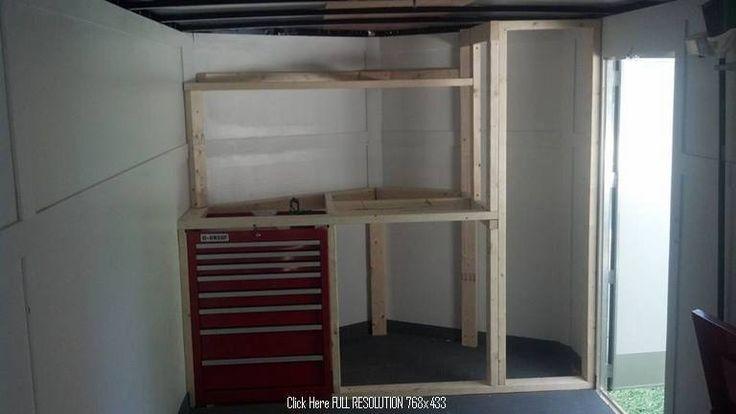Enclosed trailer camper 25