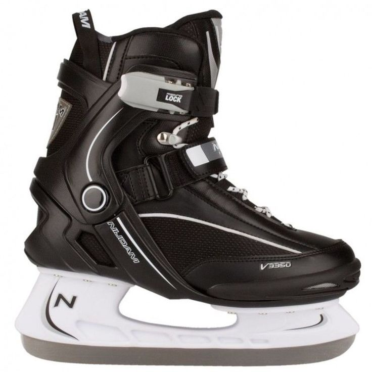 Ice Skating Shoes Sport Activity Black White Boys Comfortable Ice Skates Size 42 #IceSkatingShoes