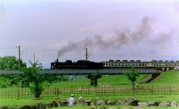 Steam locomotive day (photo AN, Shiokawa)