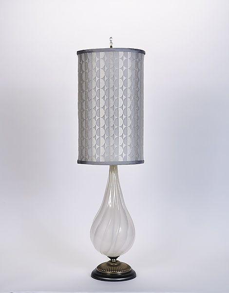 julie by susan kinzig and caryn kinzig mixedmedia table lamp