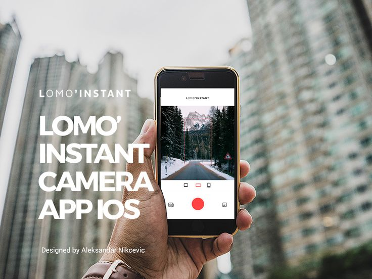 Lomo'Instant Camera App IOS Capture your great moment