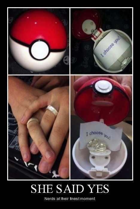 I CHOOSE YOU!: Ideas, Wedding Propo, Future Husband, Futurehusband, Rings, I Choose You, I Choo You, Marriage Propo, Pokemon Propo
