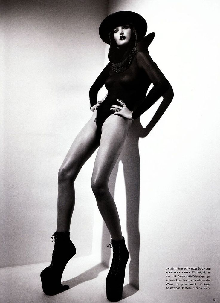 Catherine McNeil Vogue Germany by Patrick Demarchelier