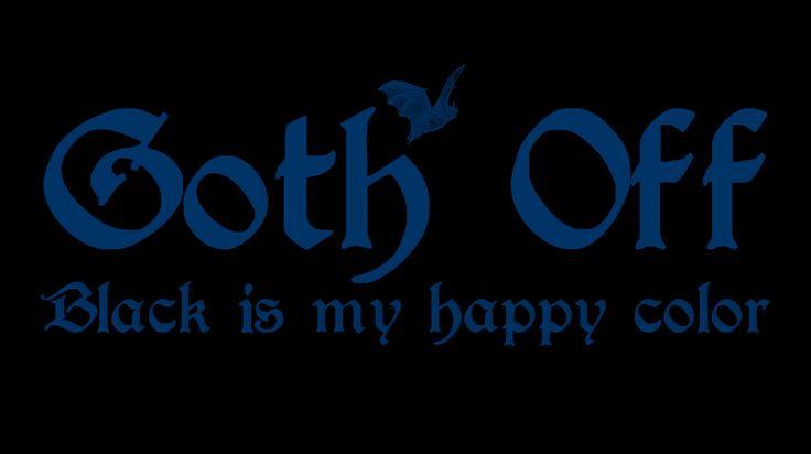 Goth Off (Dark Midnight Blue) 2014 Collection - © stampfactor.com