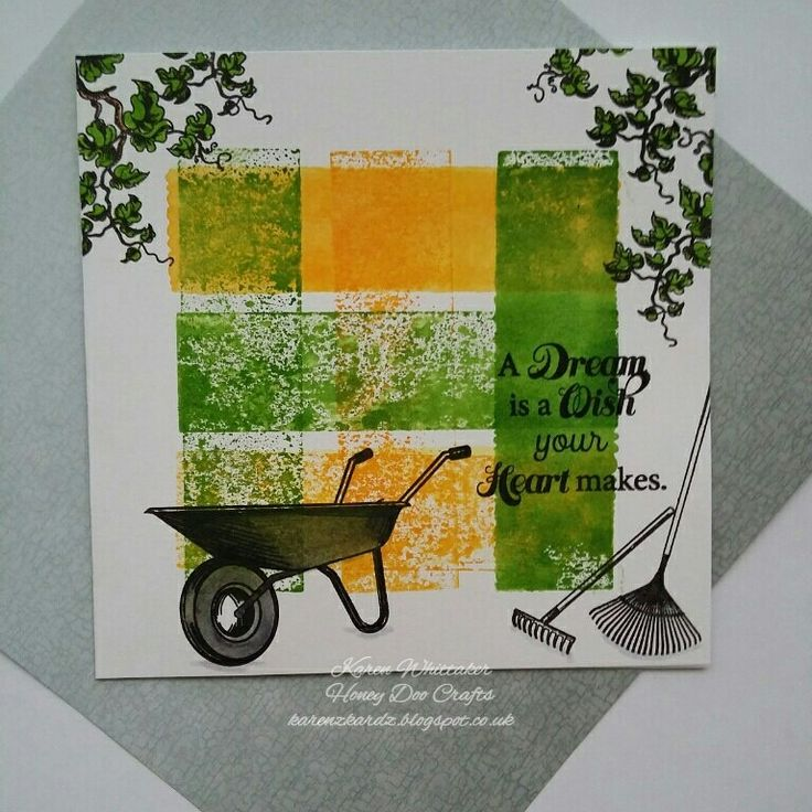 And Sow to Garden by Honey Doo Crafts  #honeydoocrafts #dtsample #andsowtogarden #gardening #flowers #distressinks #stamps #stamping #card #creative #craft #ilovetocraft
