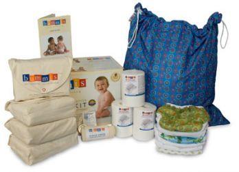 Bummis Organic Cotton Diaper Kit - Infant #3littlemonkeys